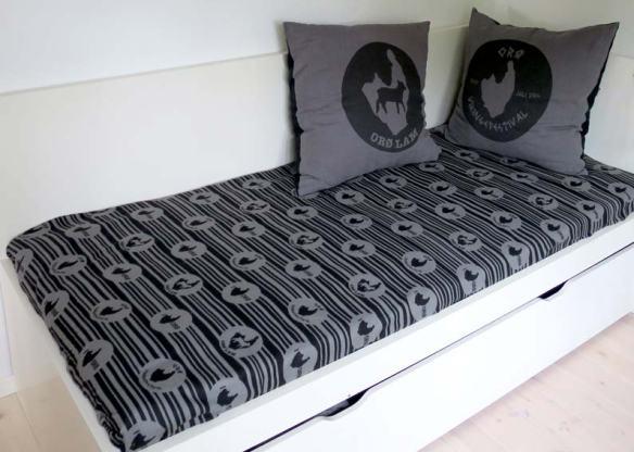 custom tryk tæppe