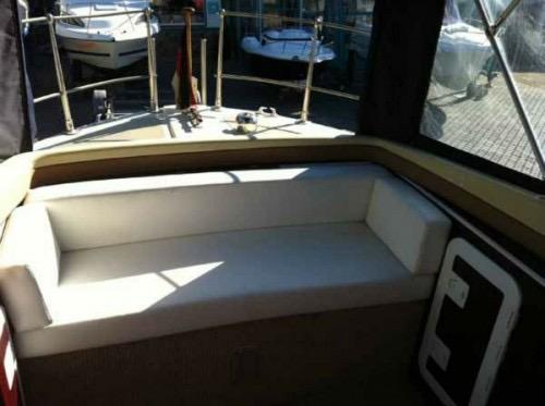 Flot sæde i båd