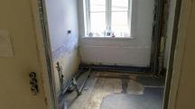 Nedrivning af badeværelse